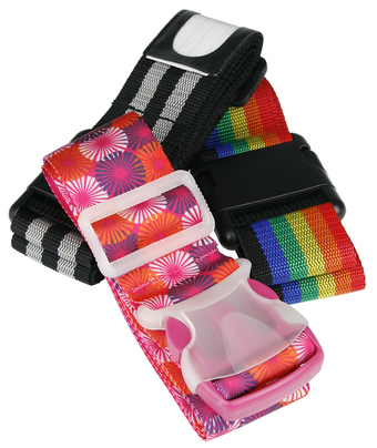 Luggage strap 12-pack