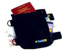 Leg Pocket Travel Blue